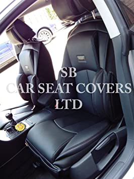 Ys 01 Rossini Grey//Black Car Seat Covers 2 Fronts To Fit A Mazda Bongo