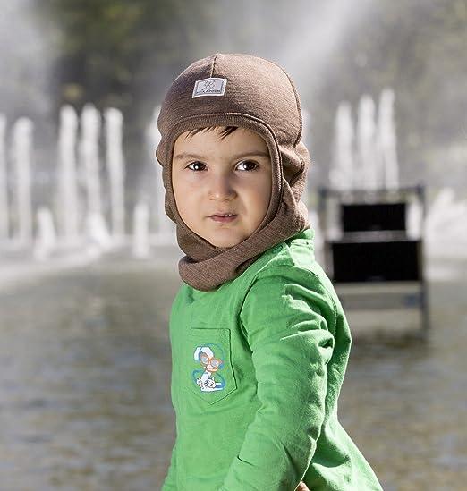 f82b03e5ca5 Amazon.com  Pickapooh Hat Merino Wool Silk Balaclava Baby Boy Girl Children  Winter Organic Bosse  Clothing