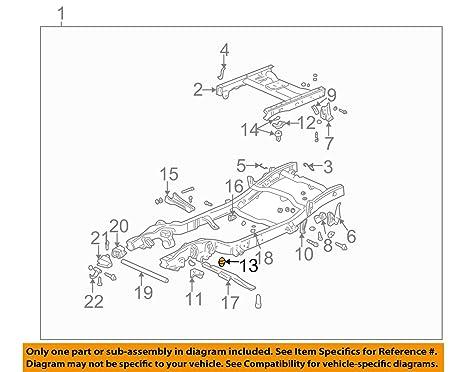 Surprising Amazon Com 97 07 Silverado Sierra 1500 Hd Suspension Frame Wiring Cloud Hisonuggs Outletorg