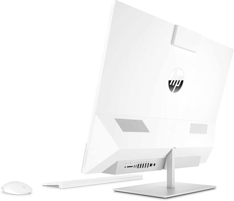 HP Pavilion 27-xa0846ng All-in-One PC 27 Zoll // QHD Touchscreen schwarz Intel Core i7-8700T, 16GB DDR4 RAM, 512 GB SSD NVMe, 2 TB HDD, nVidia Geforce GTX 1050 4GB DDR5, Windows 10 Home