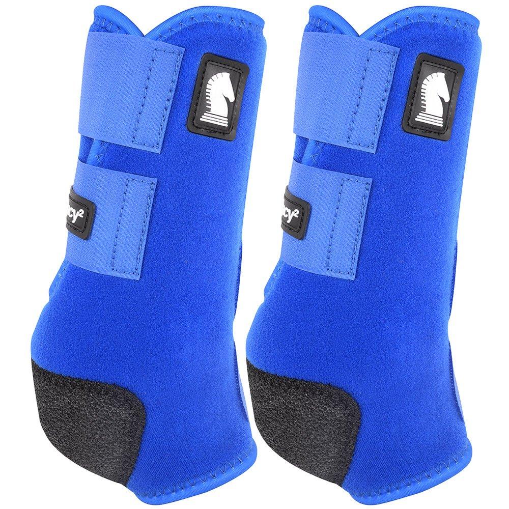 クラシックロープ会社legacy2前面保護用ブーツ2パックLブルー   B0792DTPXM
