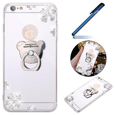 custodia iphone 6 plus con anello