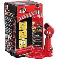 Deals on BIG RED T90203B Torin Hydraulic Welded Bottle Jack 2 Ton