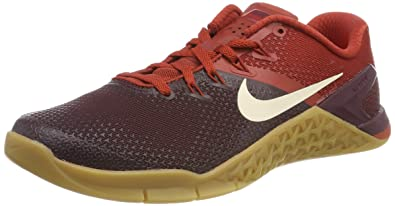 48a32704999e Nike Men s Metcon 4 Training Shoe Burgundy Crush Light Cream-Dune RED 8.0