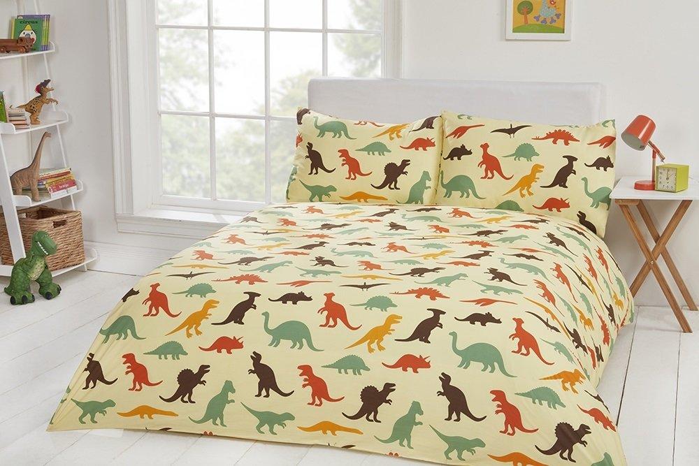 Housewife Pillowcase 50x75cm Coton Linge de lit fantaisie de luxe pour enfants 100/% coton 200/fils Draps et housses de couette disponibles dinosaure