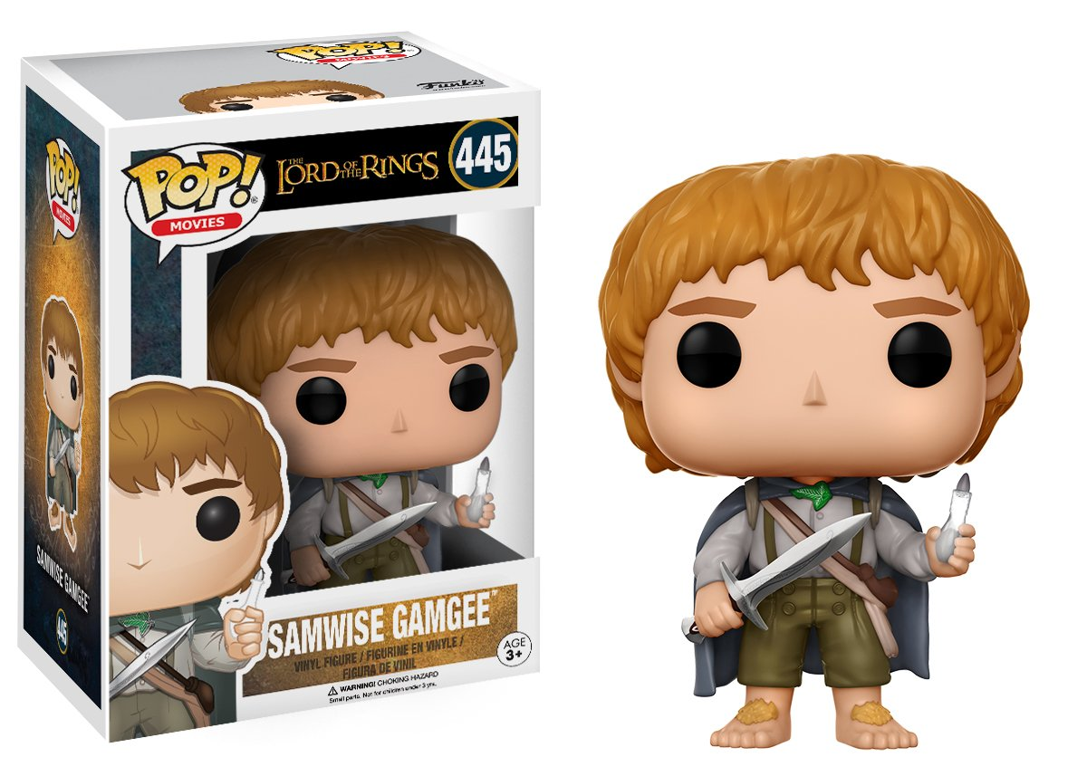 Funko POP Movies The Lord of The Rings Samwise Gamgee Action Figure 13553 Accessory Toys /& Games Miscellaneous