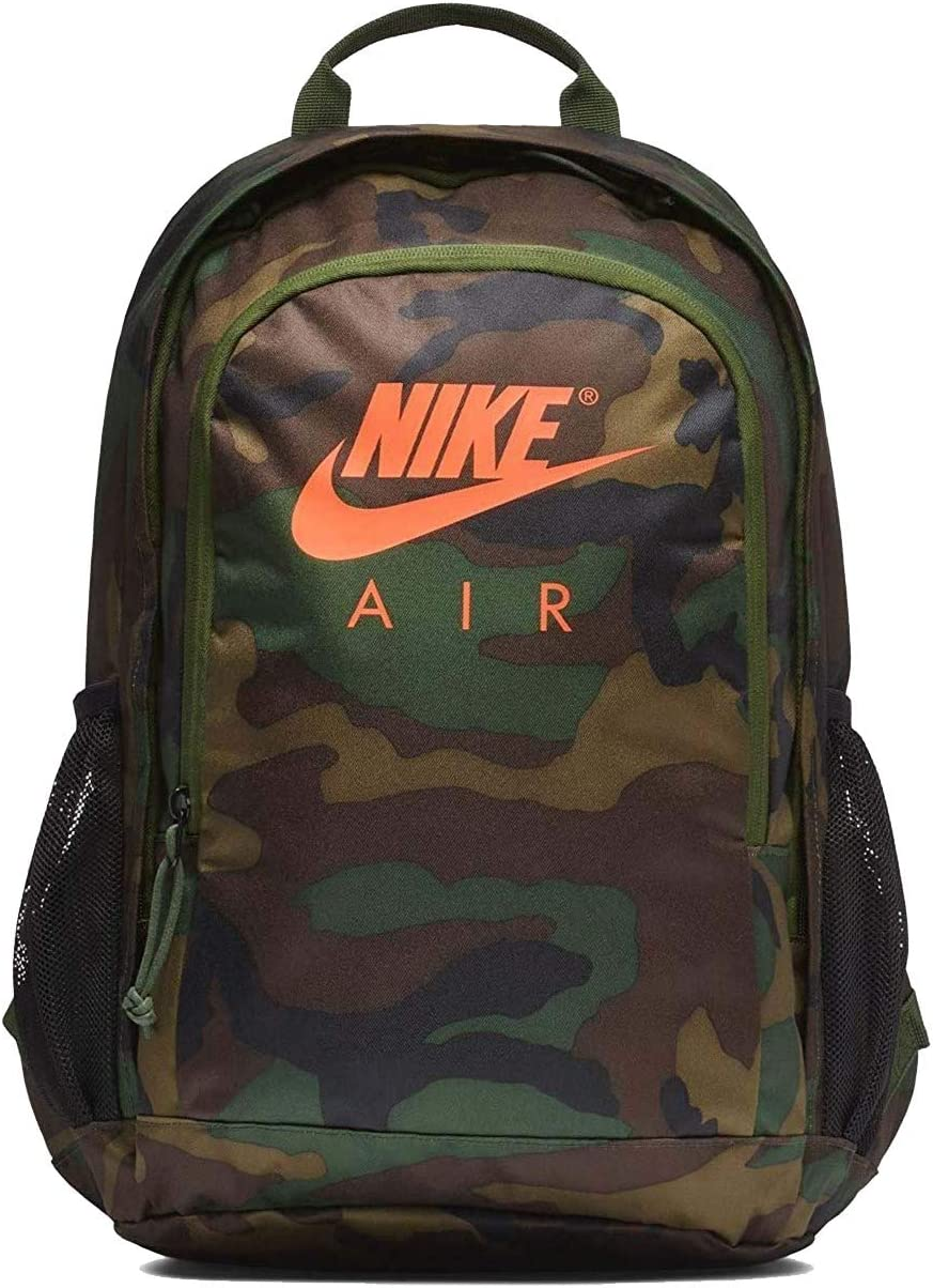 NIKE Air Hayward Futura NK Backpack Camo Orange-Black CK0955-210