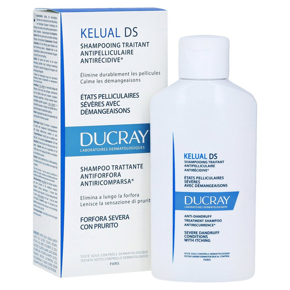 Ducray KELUAL DS Shampoo 100 ml (Severe Dandruff, Itching of the Scalp) Pierre Fabre 7936128