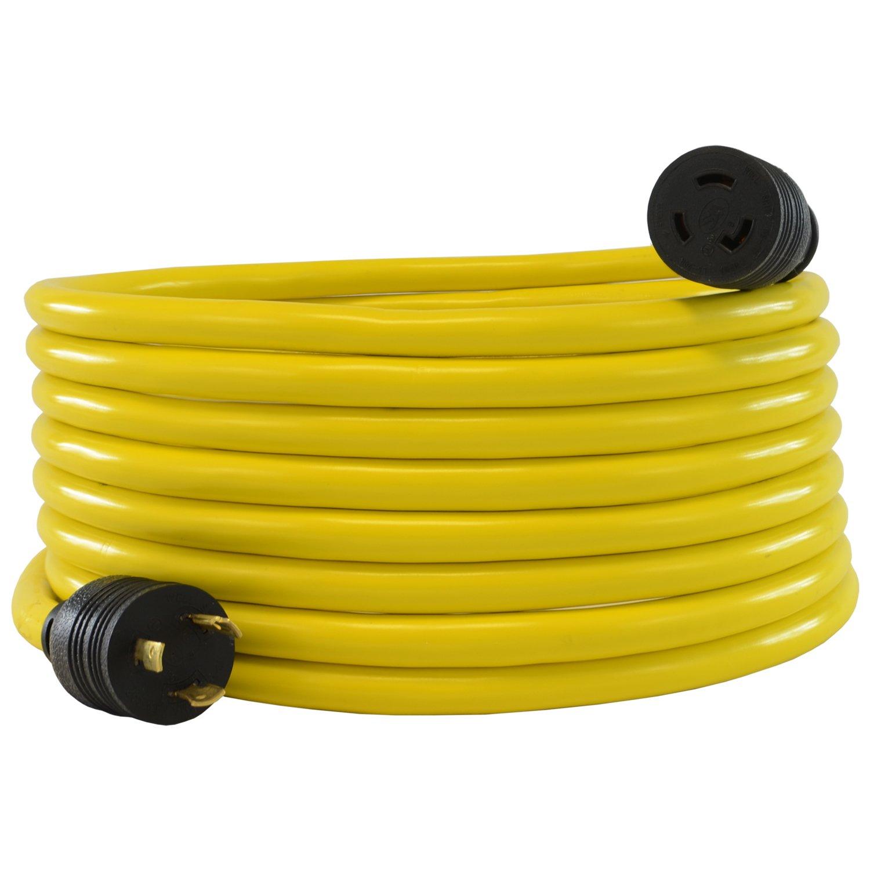 Conntek 20551 25-Feet 20A 125V L5-20 STW 12/3 Locking Extension Cord