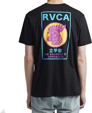 RVCA Camiseta Take out SS Hombre: Amazon.es: Ropa y accesorios