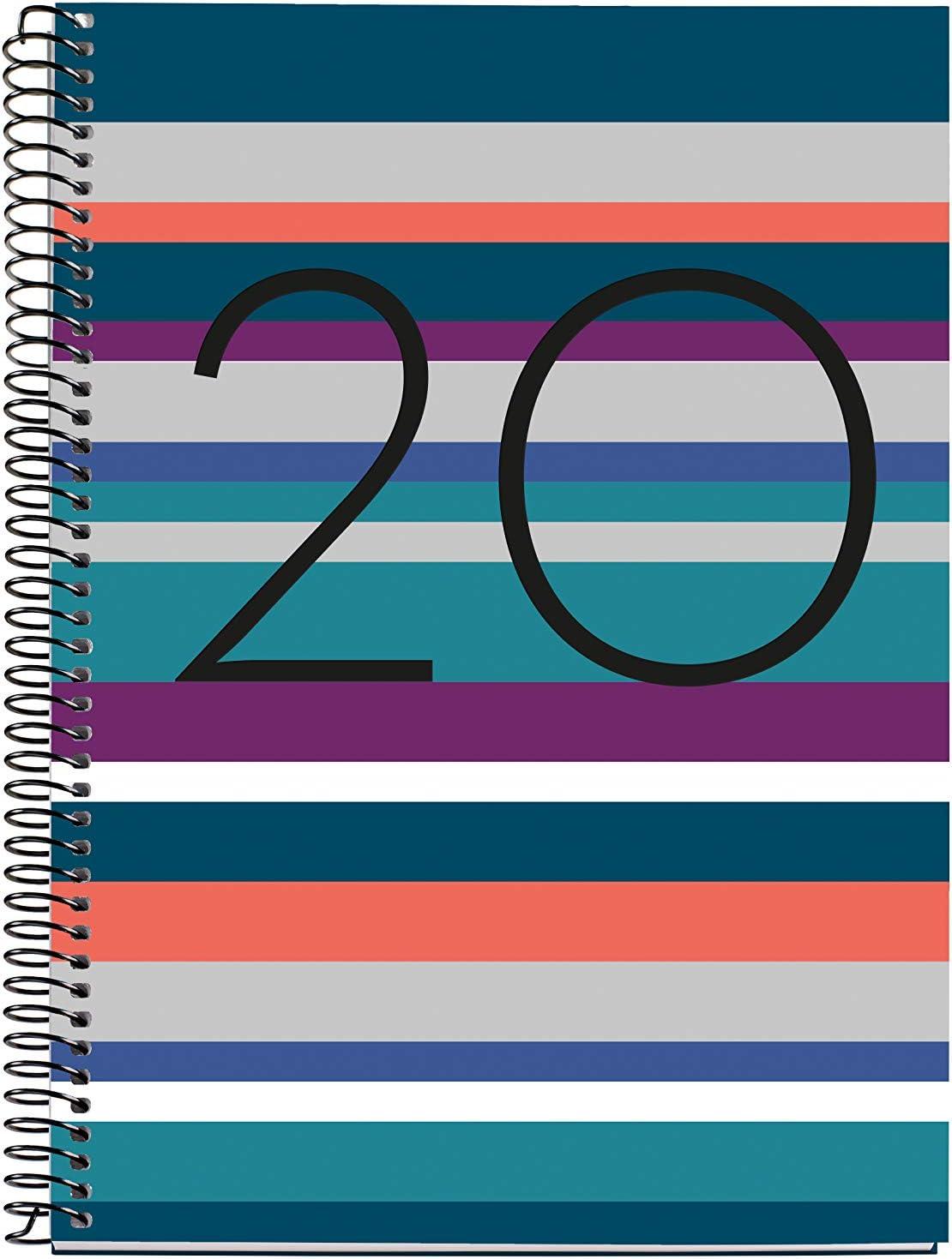 Miquelrius 34014 - Agenda 2020, Semana Vista Vertical (155 x 213 mm), sobremesa, Noruega, Castellano