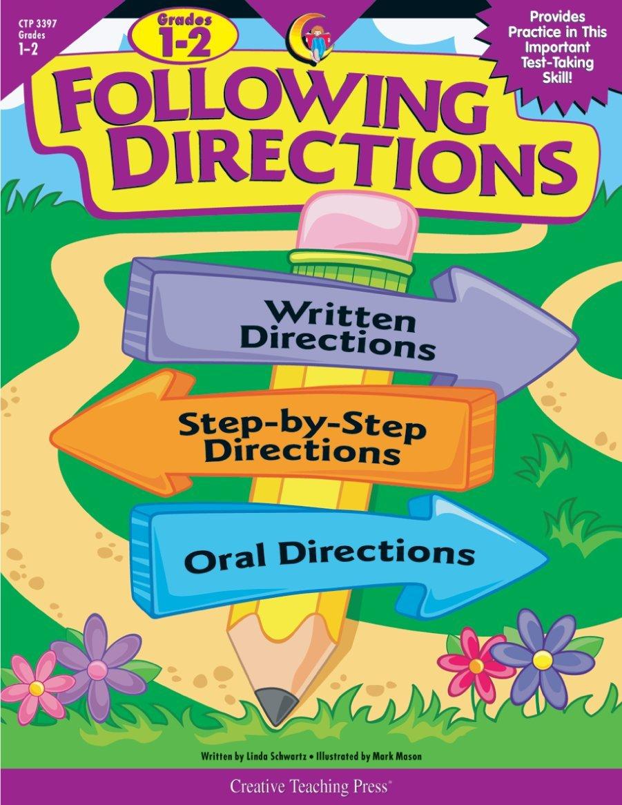 Following Directions, Gr. 1-2 ebook