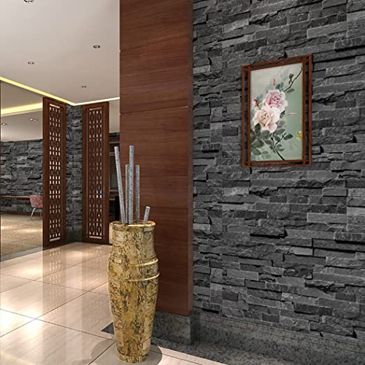Brick Wallpaper WarmieHomy Modern D Brick Stone Wallpaper M X - 3d brick wallpaper living room