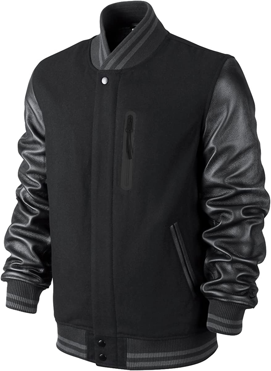 Nike NSW Destroyer Varsity Veste pour Homme Noir : Amazon