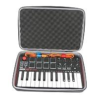 Hart Reise Schutz Hülle Etui Tasche für AKAI Professional MPK Mini MKII Portables Keyboard von co2CREA