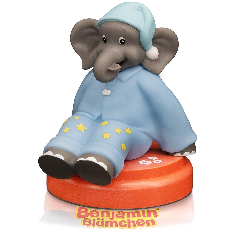 Aroosa Benjamin Blümchen Led Nachtlicht Süßes Baby Kind Nachtlicht Mit Touch Sensor Timer Elefant Ideal Als Einschlafhilfe Stilllicht Nachtlampe Nachttischlampe Für Baby Kinderzimmer Baby