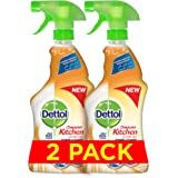 Dettol Healthy Kitchen Power Cleaner Trigger Spray - Orange (2 x 500ml)