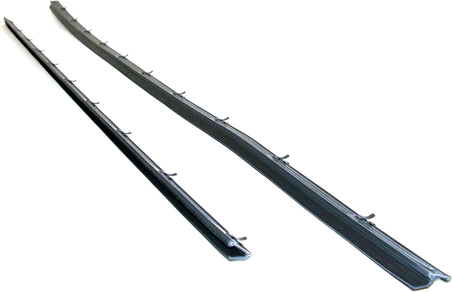 Tailgate Tail Gate Window Sweep Weatherstrip Seal Set Kit for 78-96 Ford Bronco