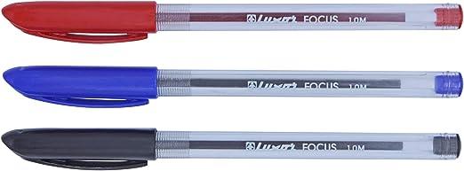 50 x Pink Ballpoint Biro Pen Medium Point Smooth Ink Hainenko Focus C6P