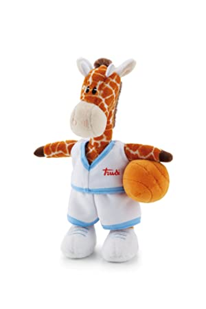 Trudi Events Sports - Jirafa baloncestista de peluche