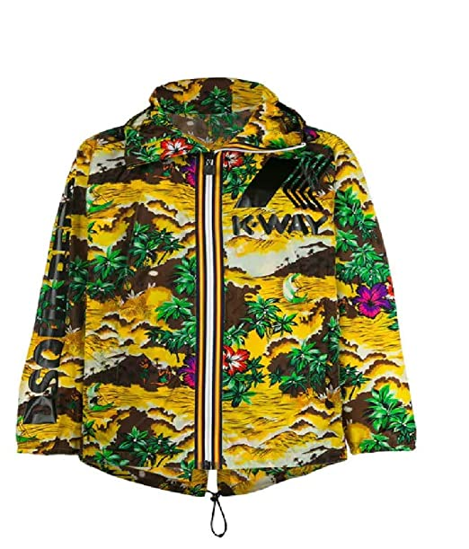 Amazon.com: DSQUARED2 - Chaqueta de nailon con impresión ...