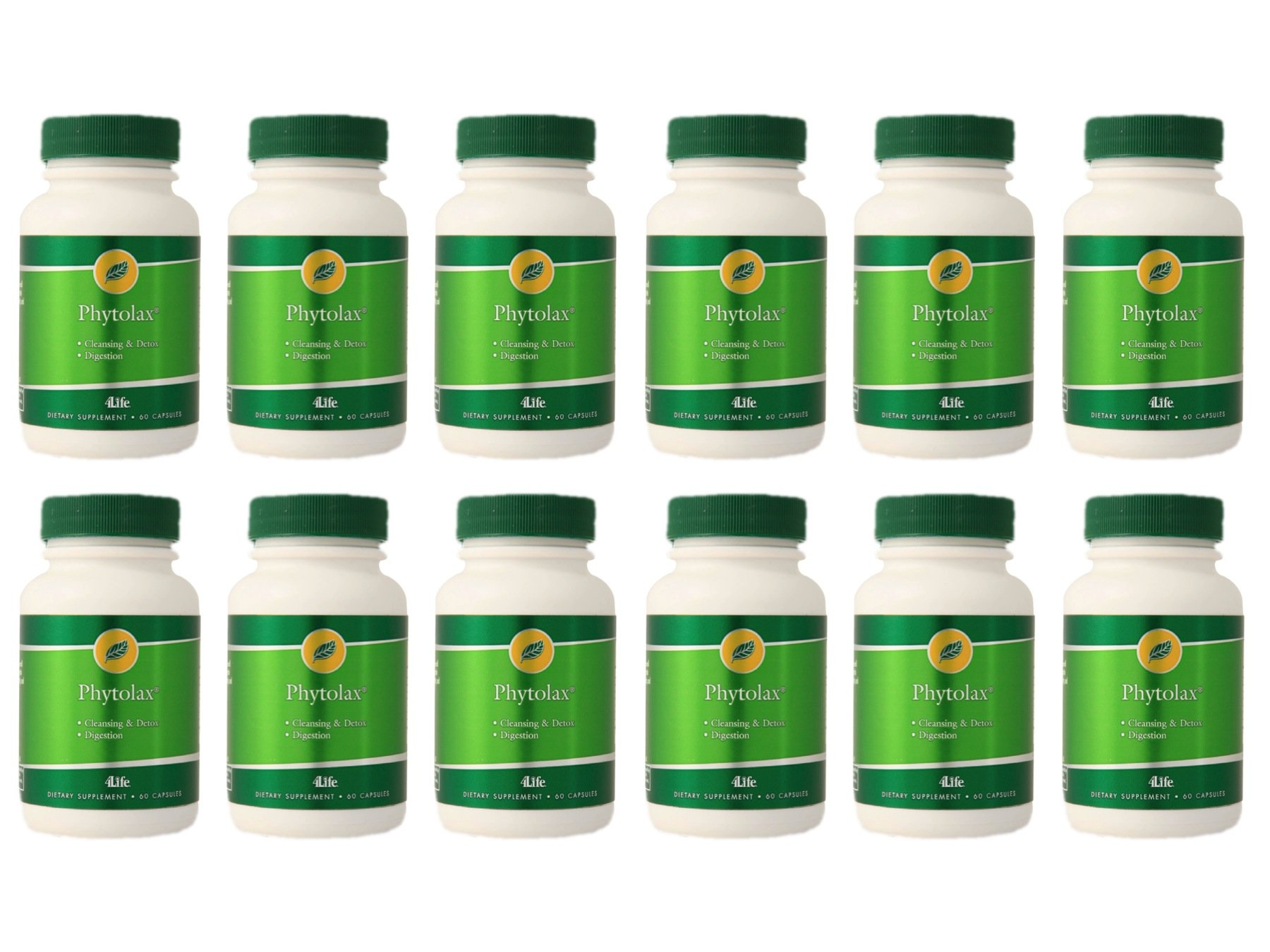 PhytoLax by 4Life - 60 capsules / 12 Bottles