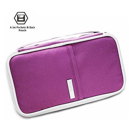 0cc333f74985 RFID Travel Wallet Passports Holder Document Organizer Package