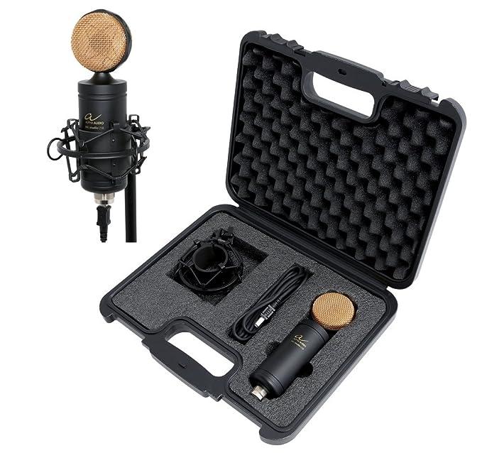1 opinioni per Alpha Audio 170844 Microfono Condensatore da Studio con Connessione USB