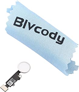 BlvcodyTM Home Button Key Flex Cable Assembly Replacement for iPhone 7&7 Plus