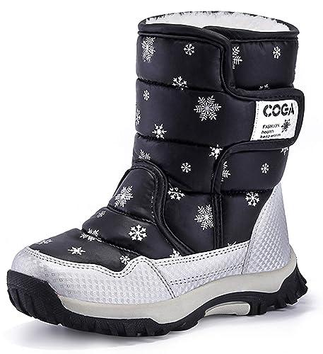 sports shoes 914e9 8f4d8 Winterstiefel für Mädchen Winterschuhe Warm Gefüttert ...