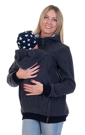Jacke fur baby tragetuch