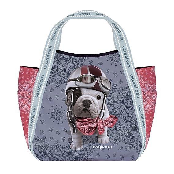 Petit sac shopping Téo Jasmin Liberty - Poudre yQykX