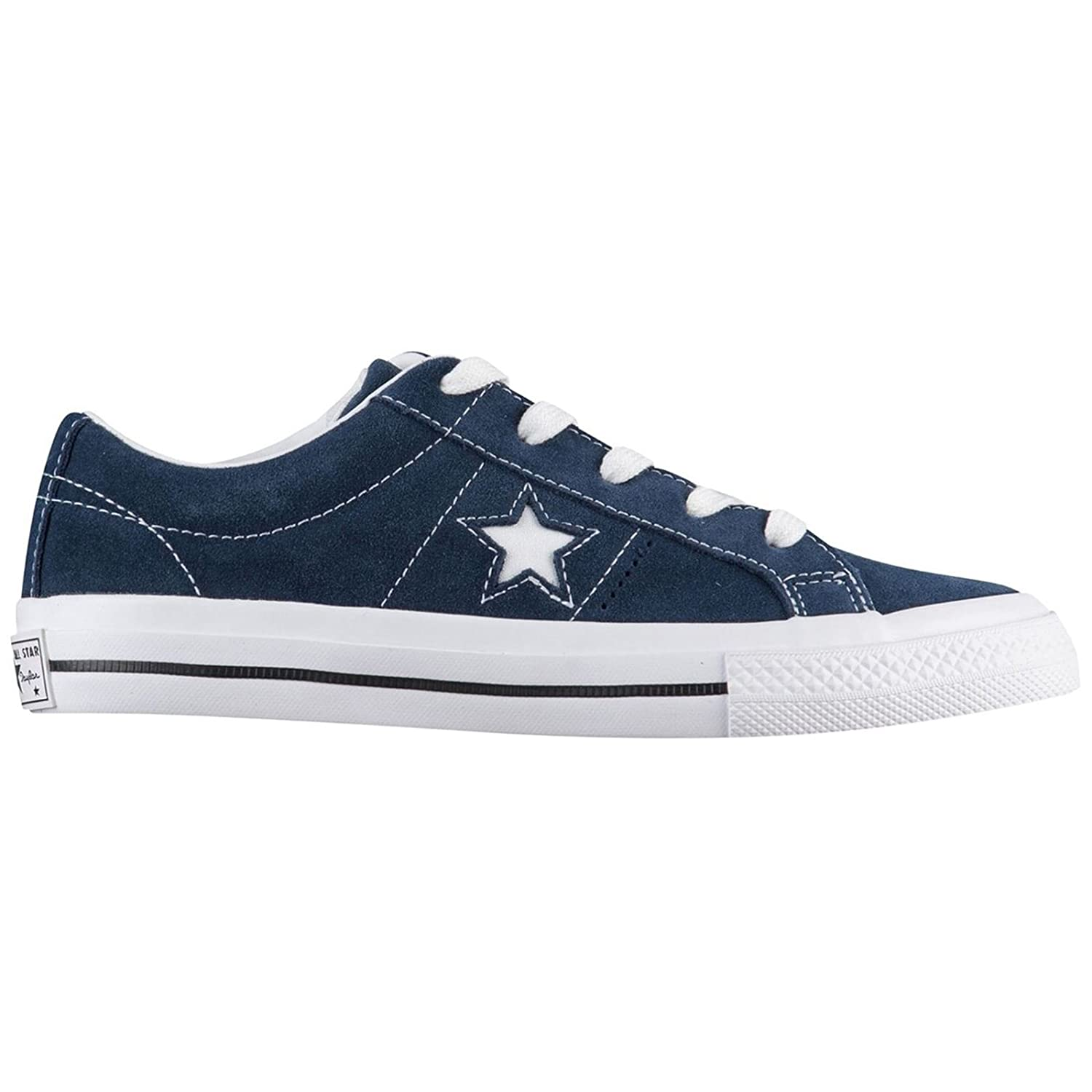 Converse Youth One Star Ox Suede Trainers