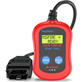 Autel MS300 Universal OBD2 Scanner Car Code Reader, Turn Off Check Engine Light, Read & Erase Fault Codes, Check Emission Mon