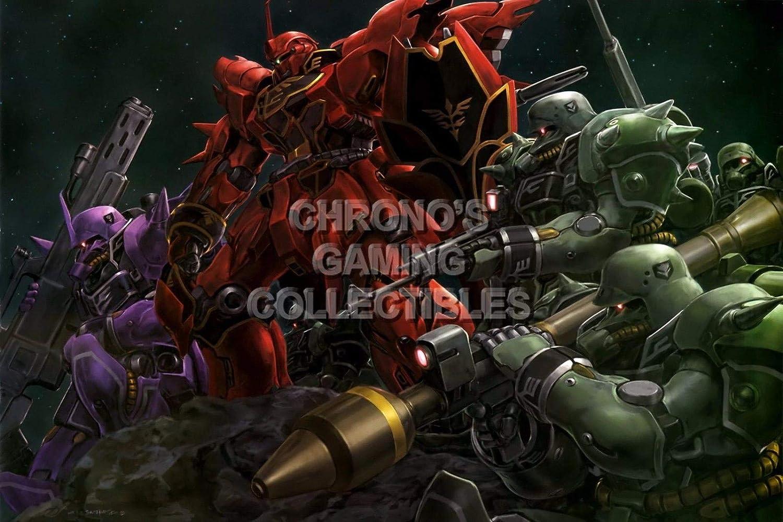 123945 Mobile Suit Gundam Unicorn Anime Decor Decor Wall 16x12 Poster Print