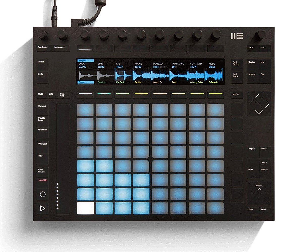 Ableton Push 2 with Live 10 Suite (Software Included) by Ableton