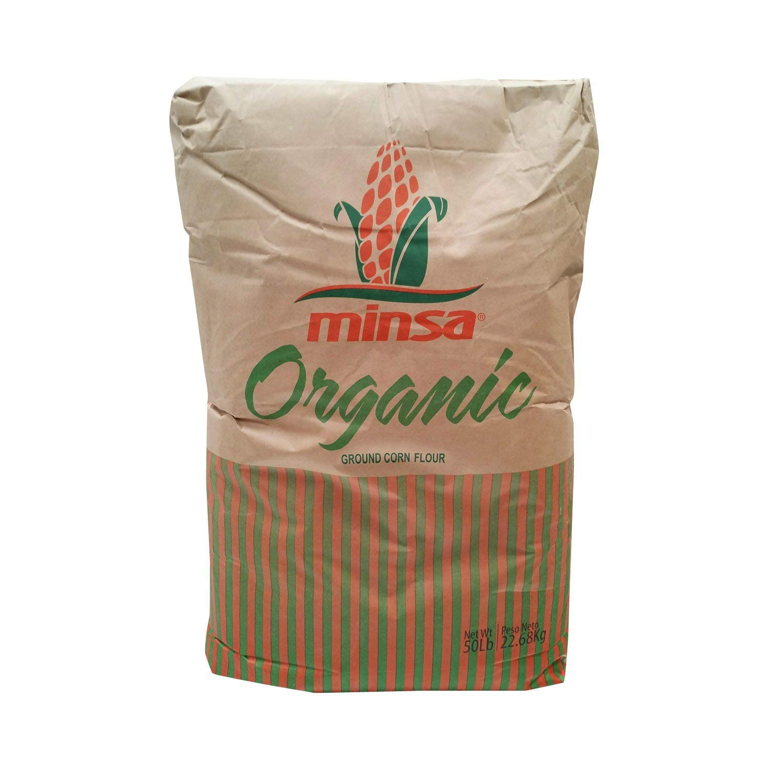 Gold Mine White Corn Masa Harina - USDA Organic - Macrobiotic, Vegan, Kosher and Gluten Free Flour for Healthy Mexican Dishes - 50 LBS by Gold Mine Natural Food Co.