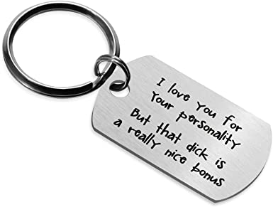 Gifts for Men Gift Ideas for Boyfriend Keyring Personalised Gift for Him Gift