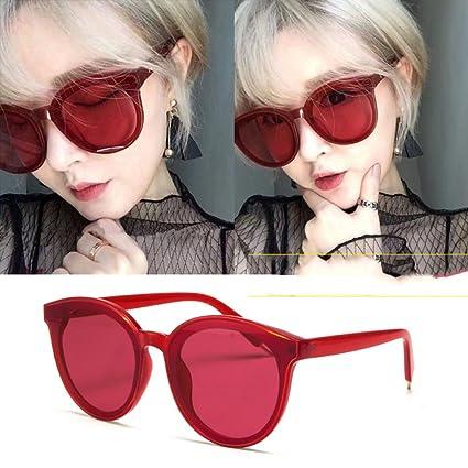 XLFF Cara Redonda Retro Sunscreen Gafas de Sol de Cara ...