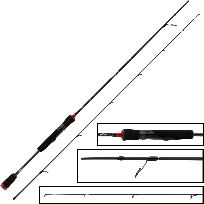 5-21g Rute 3-14g Fox Rage Prism Lite /& Medium Spin Rod 2,10m /& 2,40m 2-8g