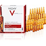 Vichy LiftActiv Peptide-C Ampoule Serum Anti Aging Concentrate, 10% Pure Vitamin C with Hyaluronic Acid and Peptides…