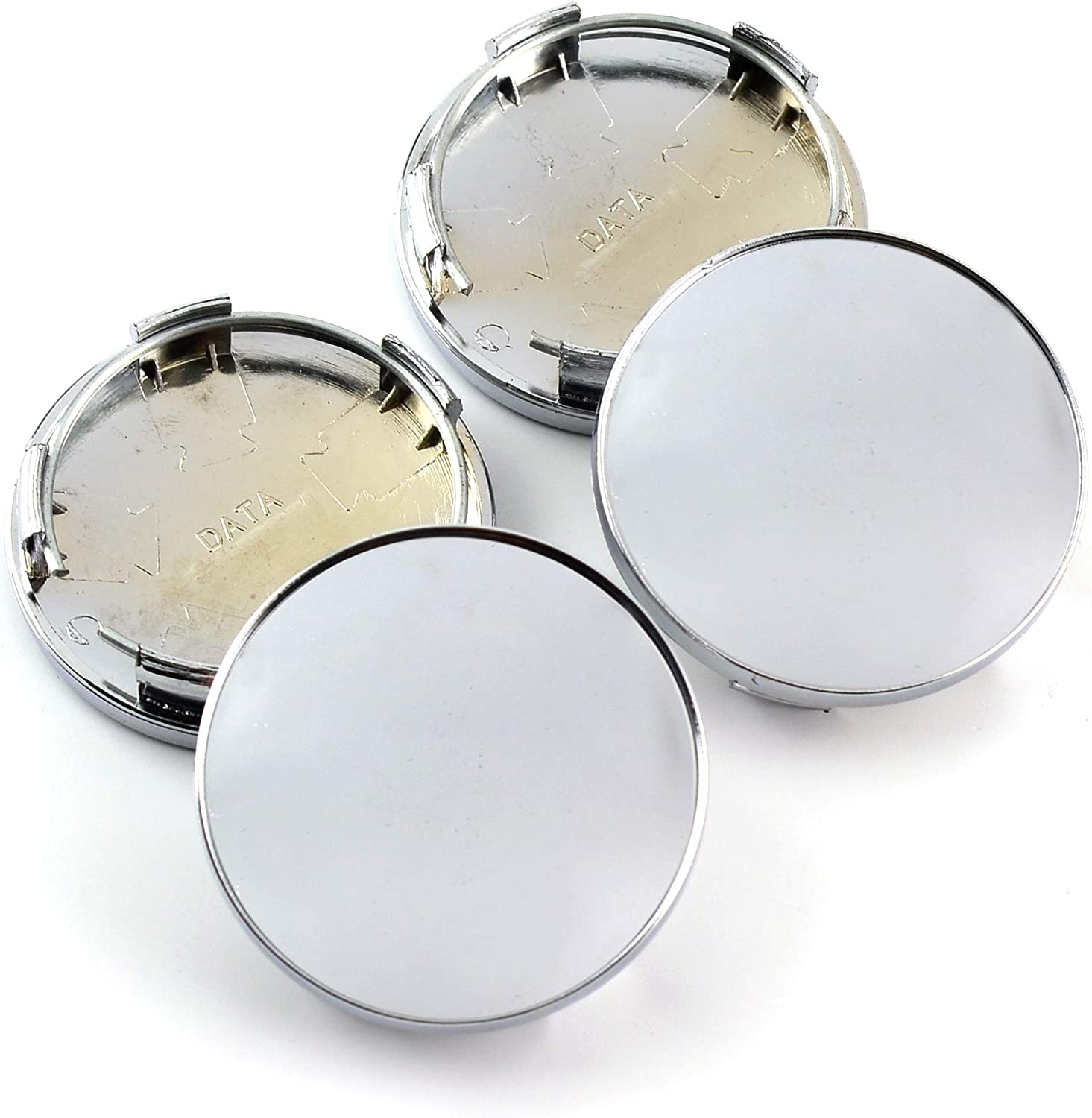 //53mm Set of 4 59mm 2.08in Wheel Hub Center Caps for #28821SA030 Impreza Legacy Outback Tribeca Forester 2006-2014 Replacement 2.32in