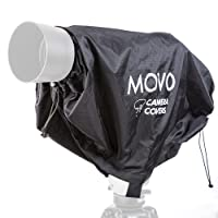 Movo CRC23 Storm Raincover Protector for DSLR Cameras, Lenses, Photographic Equipment (Medium Size: 23 x 14.5)