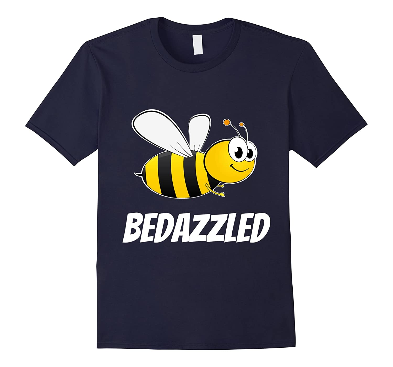 Be Bedazzled Bee Bedazzled Cool Bumble Bee T-shirt-TJ