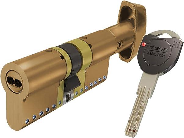 Tesa Assa Abloy, TK1B3030L, Cilindro de Alta Seguridad, TK100 ...