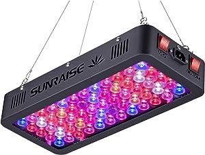 LED Grow Light Full Spectrum for Indoor Plants Veg and Flower SUNRAISE LED Grow Lamp with Daisy Chain Triple-Chips LED (145watt)
