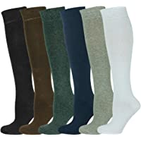 Mysocks Unisex Knee High Long Socks Plain