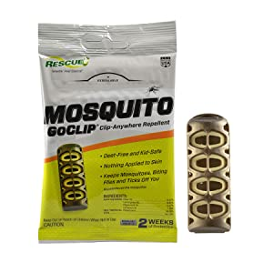 RESCUE! MGC-DB12 Mosquito Wearable Repellent