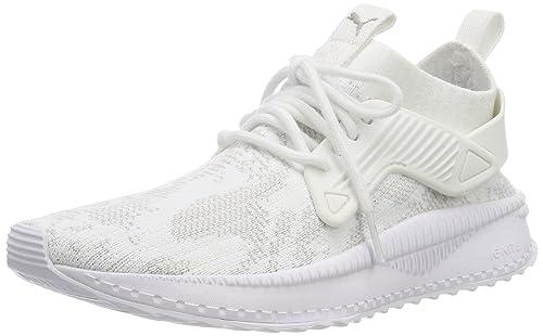 PUMA Tsugi Cage evoknit scarpe basse nero bianco black white sneakers 365395 NUOVO