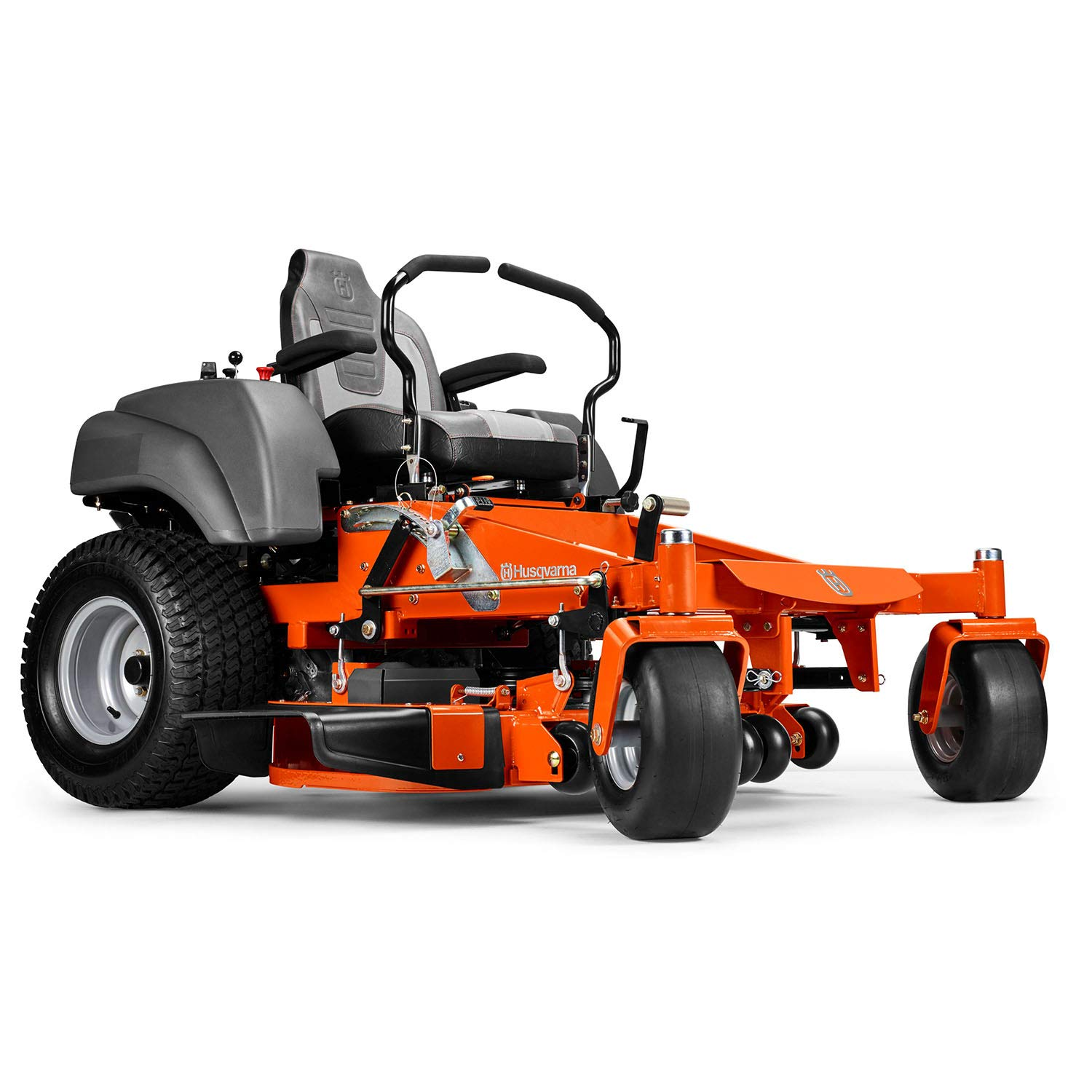 2. Husqvarna MZ61 Briggs & Stratton Zero Turn Riding Mower - Best Zero Turn Mower for Large Lawns